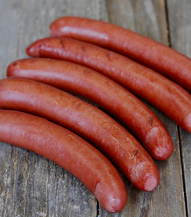 Natural Cased Beef Hot Dogs
